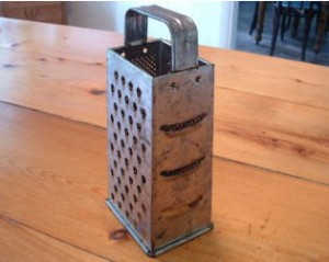These old box graters work really well